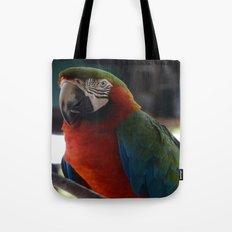 Parrot Talk Tote Bag