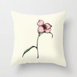 Flower 1 Throw Pillow