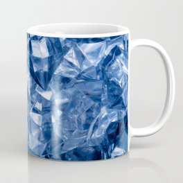 Crushed ice background Coffee Mug