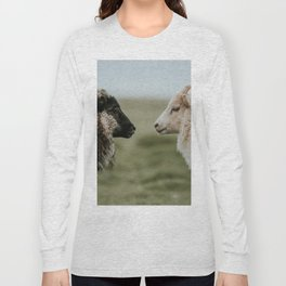 Sheeply in Love - Animal Photography from Iceland Long Sleeve T-shirt