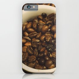 gimme a cup of coffee iPhone Case