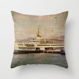 Longboattie. Throw Pillow
