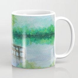 Dusk on the River MM160216h Coffee Mug