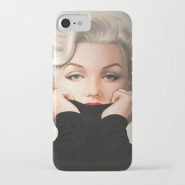 Marily-n Monroe Vintage fashion print iPhone Case