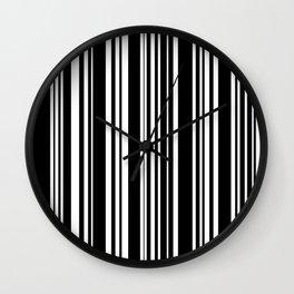 Barcode Wall Clock