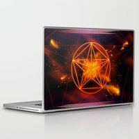 pentagram Laptop & iPad Skins featuring Pentagram  by nicky2342