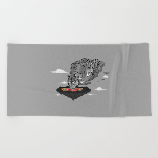 Thirst of Color Beach Towel