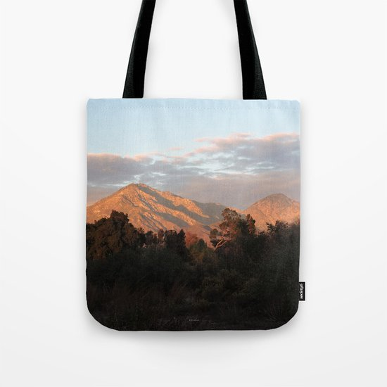 Near Sunset Tote Bag