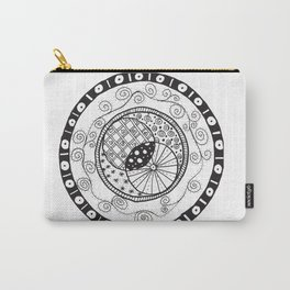 Circle Doodle Carry-All Pouch