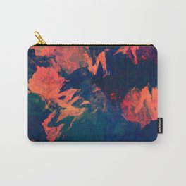 Stormy Kiss - abstract vintage painting Carry-All Pouch