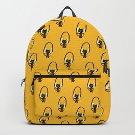 I Love Huge Headphone Backpack