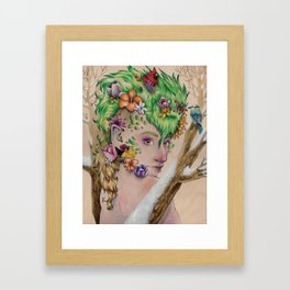 Wandering Season Framed Art Print