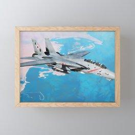 F14 Tomcat Framed Mini Art Print