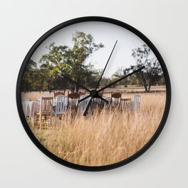 What's for Breakfast? Wall Clock