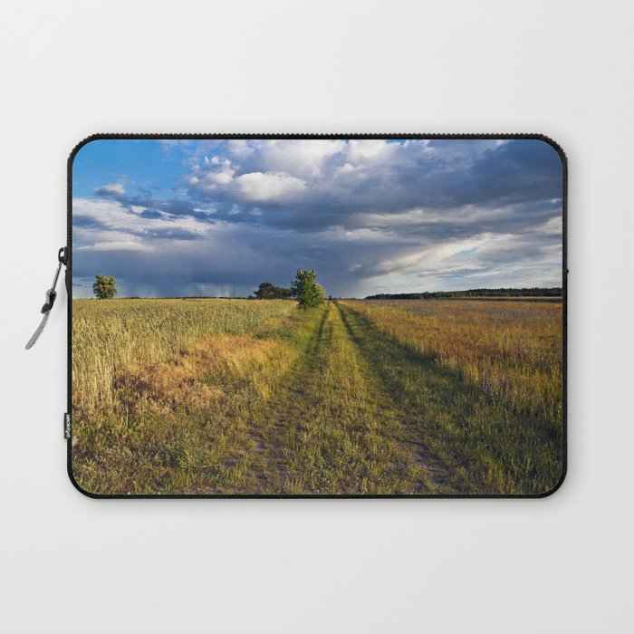 BLUE CLOUD DRAMA Laptop Sleeve
