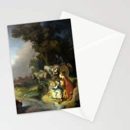 Rembrandt Abduction of Europa Stationery Cards