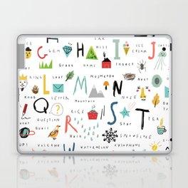 ABC Laptop & iPad Skin