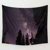 milky way Wall Tapestries featuring Milky Way by Holly O'Briant