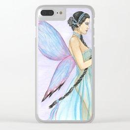Freesia Fairy Clear iPhone Case