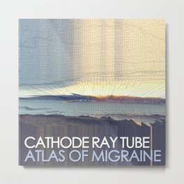 Atlas of Migraine by Cathode Ray Tube - Full Cover Metal Print