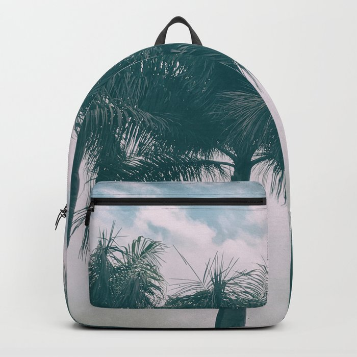 Palm Trees in tropical climate Backpack