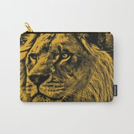 Golden Lion Carry-All Pouch