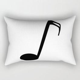 Semi Quaver Rectangular Pillow