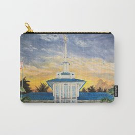 Papeete Tahiti LDS Temple Carry-All Pouch