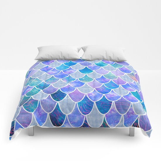 mermaid scales #5 Comforters by Vita♥G