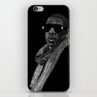jay z iPhone & iPod Skins featuring Jay-Z by William