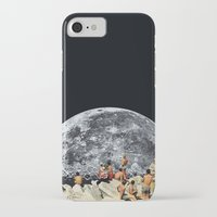 constellation iPhone & iPod Cases featuring MOONRISE  by Beth Hoeckel