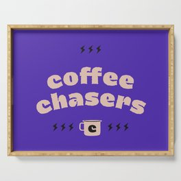 Coffee Chasers Serving Tray