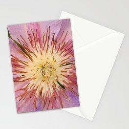 Sugar-Pink Flower Design Stationery Cards