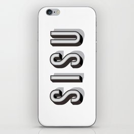 SISU - Finnish Word iPhone Skin