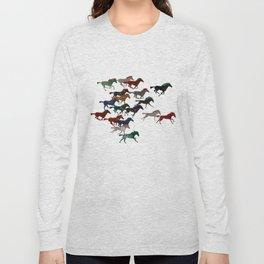 Horse Stampede Long Sleeve T-shirt