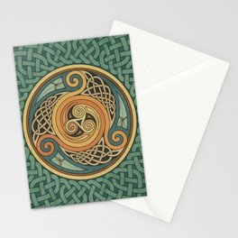 Celtic Knotwork Shield Stationery Cards