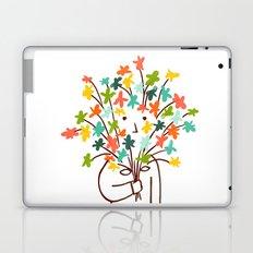 I bring flowers Laptop & iPad Skin