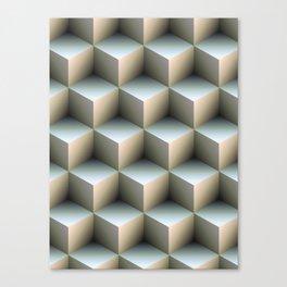 Ambient Cubes Canvas Print