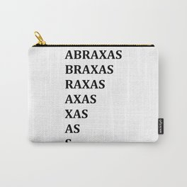ABRAXAS Carry-All Pouch