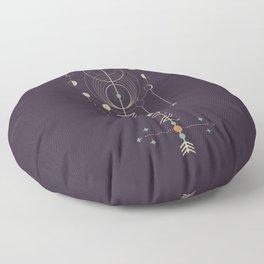 Lunar Totem Floor Pillow