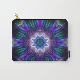 Neon Mandala 2 Carry-All Pouch