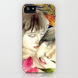 Boys in The Tropical Mood  iPhone Case