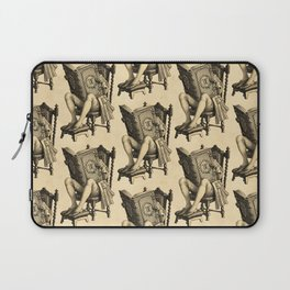 Ex Libris 'The Inveterate Reader' Laptop Sleeve