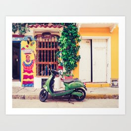 Colorful Caribbean Fine Art Print Art Print