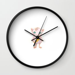 Electric Super Monster Wall Clock