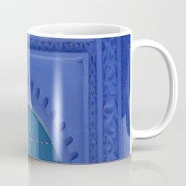 Islamic Architecture Blue Turquoise Secret Doorway Beautiful Engravings Coffee Mug
