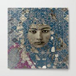 Berber Girl Metal Print