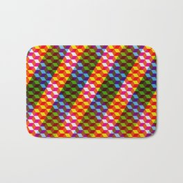 Shifting cubes Bath Mat