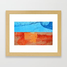 Sea and Beach Framed Art Print