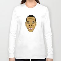 jay z Long Sleeve T-shirts featuring Jay-Z by Λdd1x7